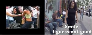 Diptych Street Harassment